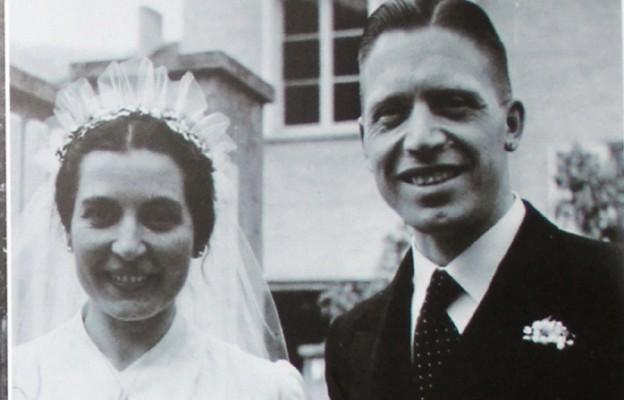Josef Mayr- Nusser z żoną