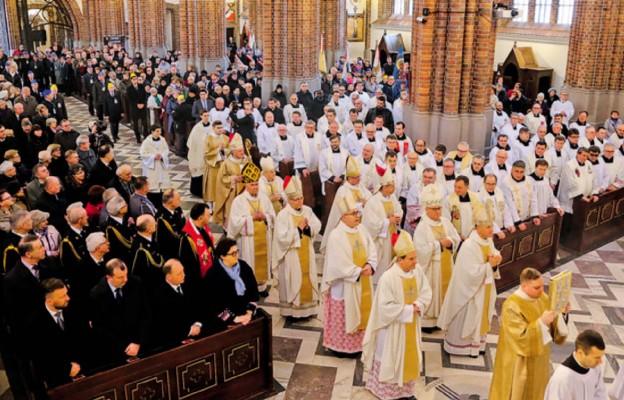 Dziękczynienie wszystkich diecezjan