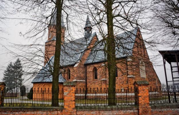 Męczenniczka antiocheńska w kościele w Moskorzewie