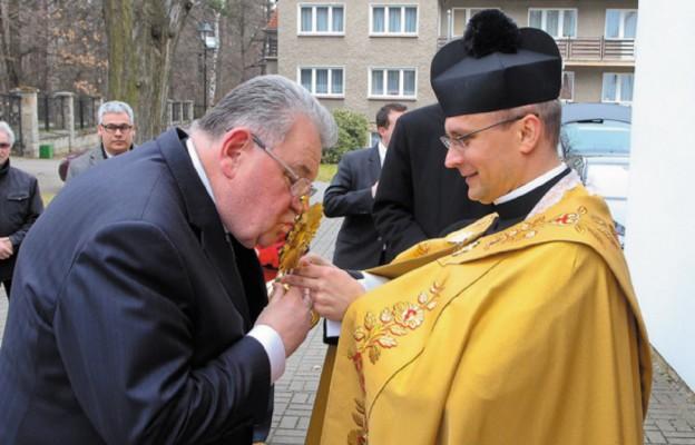 Wizyta Prymasa Czech