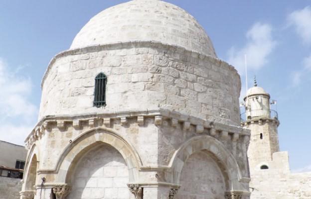 Góra Oliwna - meczet Wniebowstąpienia Pańskiego