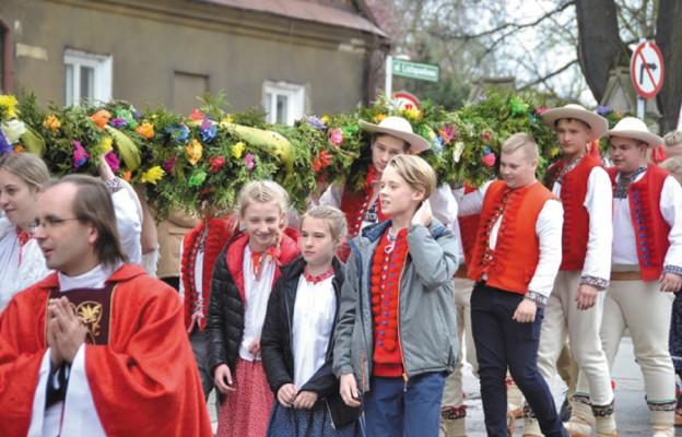 Młodzi z palmami przybyli na diecezjalne obchody ŚDM