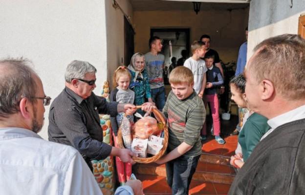 Solidarni z Polakami na Ukrainie