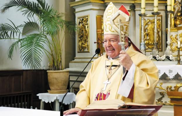 Pierwszy biskup rzeszowski Kazimierz Górny