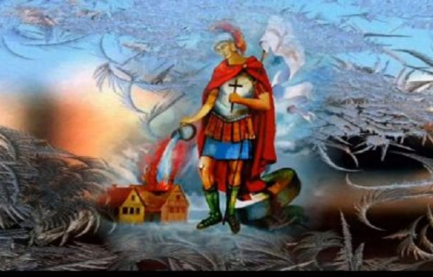 Św Florian - patron strażaków
