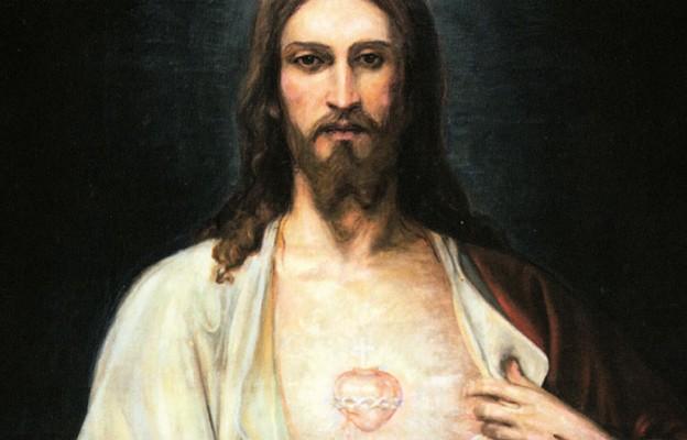 Obraz Serca Jezusowego w Wyższym Seminarium Duchownym w Częstochowie