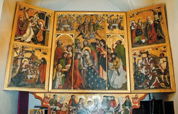 Słynny Tryptyk Bodzentyński, 1505 r. z warsztatu Marcina Czarnego