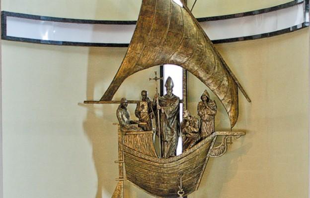 Nowa nastawa ołtarzowa w kościele pw. św. Wojciecha
