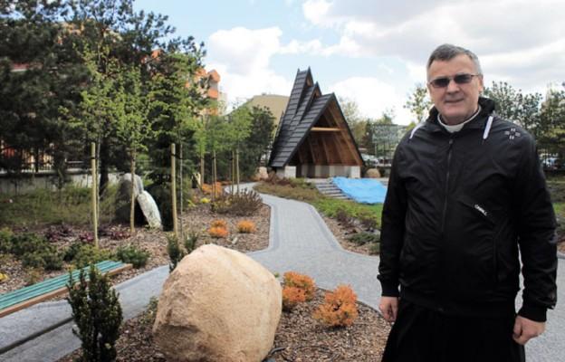 Ogród modlitwy na Bielanach