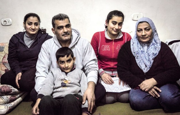 Parafie pomagają syryjskim rodzinom