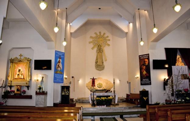 Pani Fatimska z kościoła w Kielcach-Dyminach