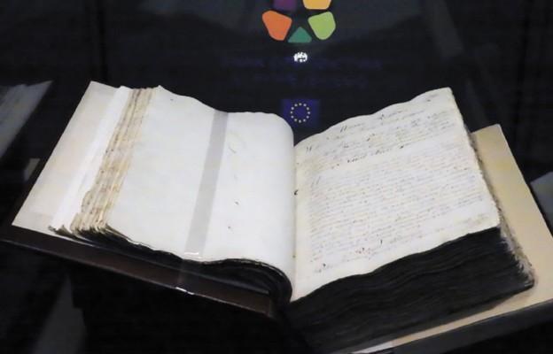 Oryginalny rękopis Konstytucji 3 Maja w Szczecinie