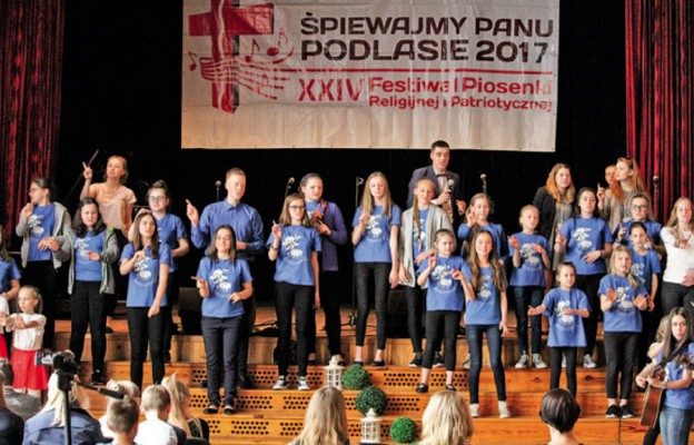 """Festiwal """"Śpiewajmy Panu"""" Podlasie 2017"""