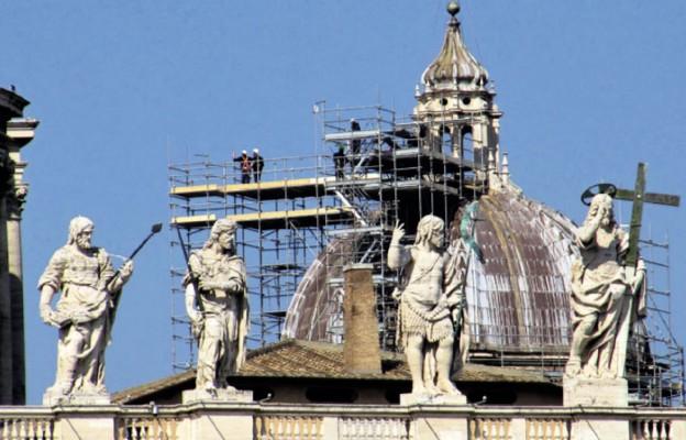 Wielkie czyszczenie Bazyliki św. Piotra