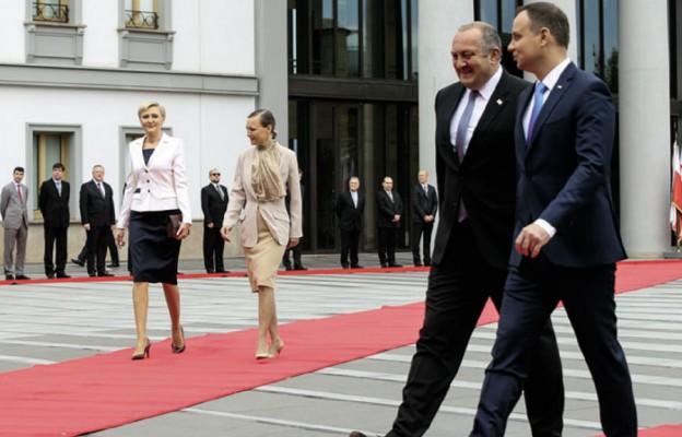 Piłsudski, Kaczyński, Duda w Gruzji