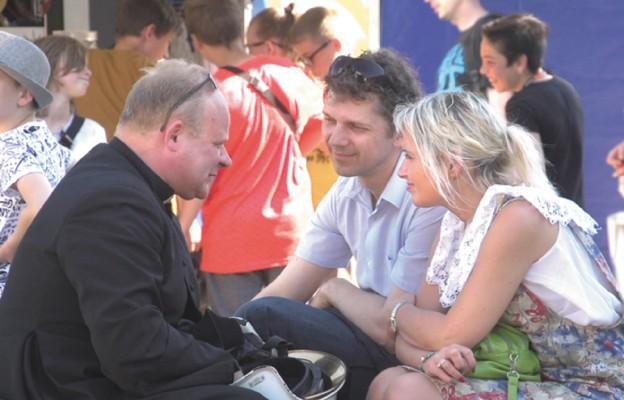 Festyn w parafii na Skałce