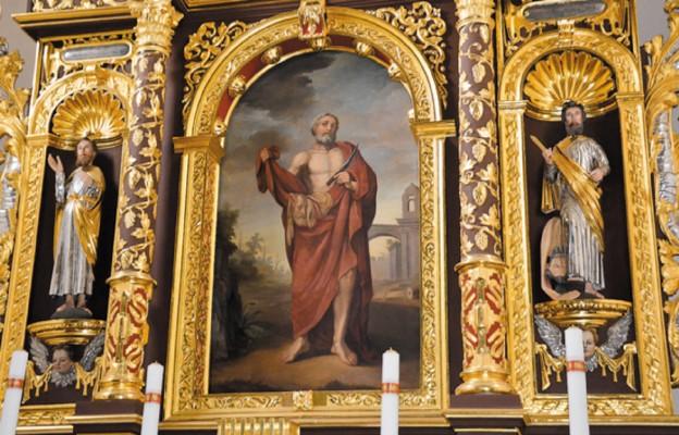 Św. Bartłomiej z kościoła w Chęcinach