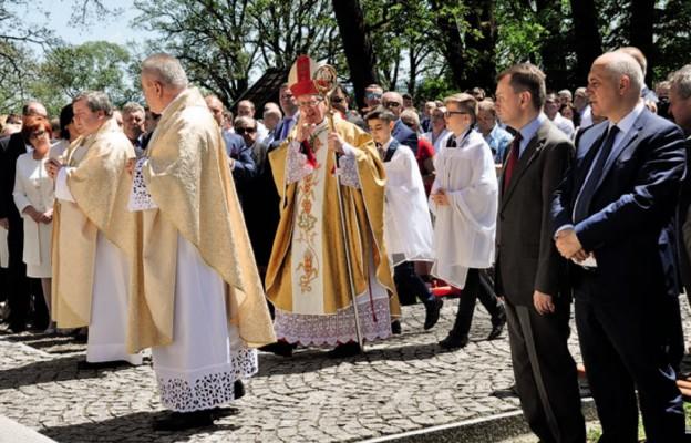 Politycy u św. Andrzeja Boboli