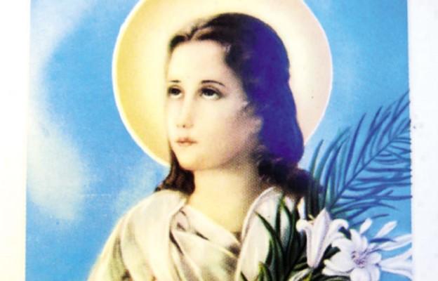 Męczennica ziemi i anioł w niebie