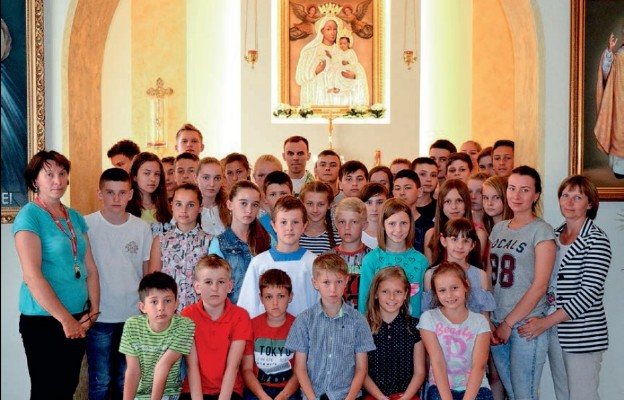 Goście z Kresów w Domu Miłosierdzia