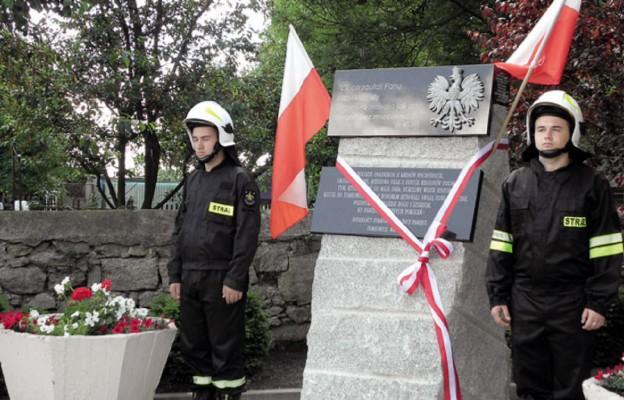 Poświęcenie pomnika – w hołdzie polskim osadnikom