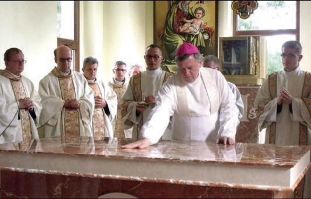 Poświęcenie kościoła św. Józefa w Oławie
