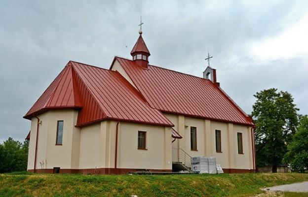 Św. Magdalena z dwoma kościołami