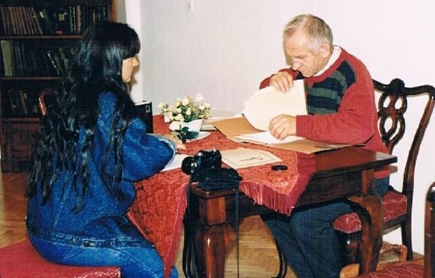Małgorzata Kowalik i Antoni Cybulski