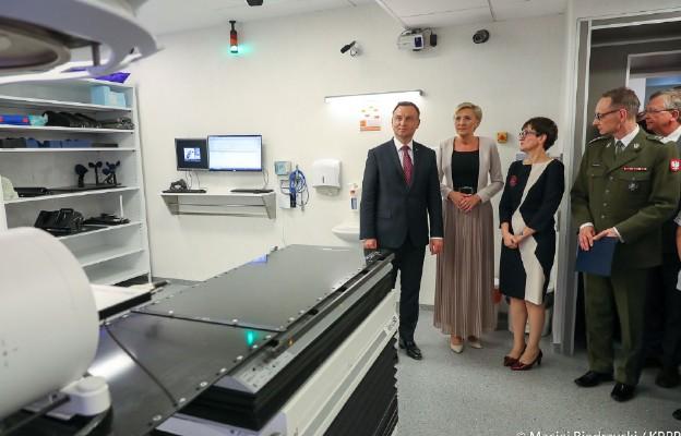 Warszawa: otwarcie zmodernizowanej Kliniki Onkologii WIM