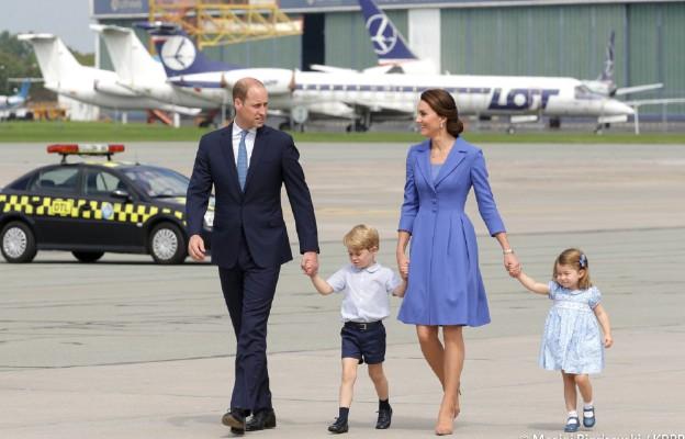 Książęta William i Kate promują rodzinę