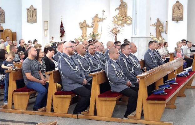 Msza św. w intencji wałbrzyskiej policji i straży miejskiej
