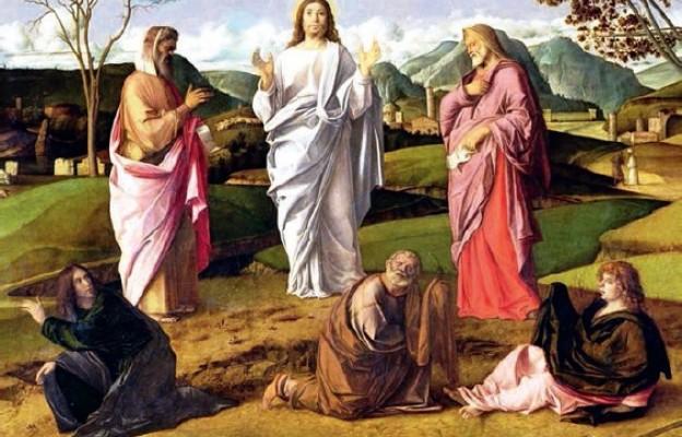 """Giovanni Bellini """"Przemienienie Pańskie"""" (fr.), 1455 r."""
