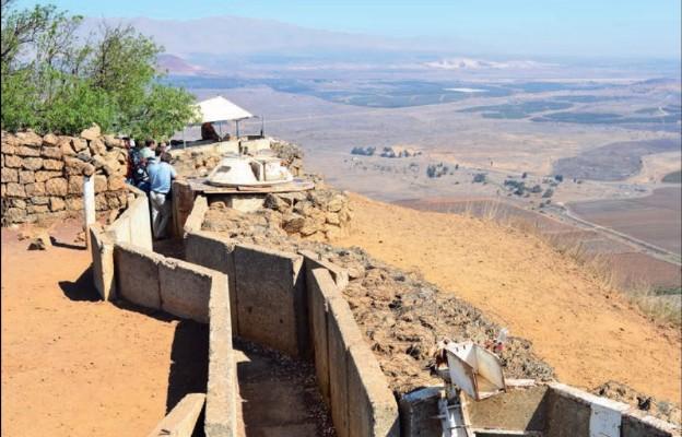 Bunkry i okopy – tu doszło do krwawych starć w czasie wojny Jom Kippur