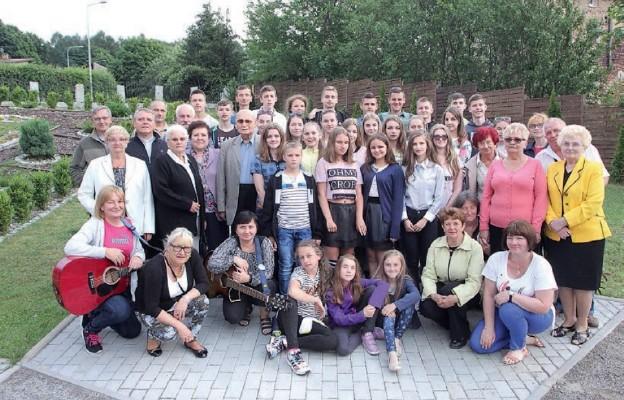 Młodzież z Borysławia w parafii Świętej Rodziny