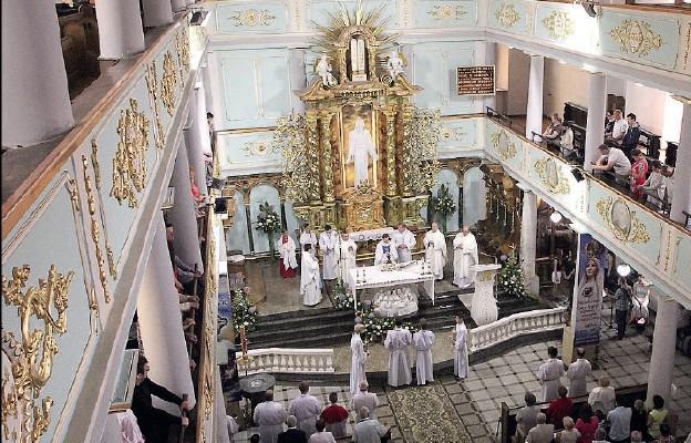 20-lecie parafii wielkim dniem radości