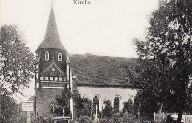 Kościół w 1910 r.