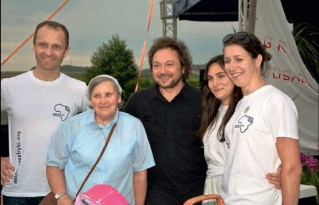 Wśród zaproszonych gości znalazł się Mietek Szcześniak
