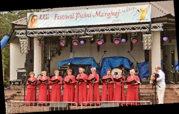 W Górecku Kościelnym śpiewali dla Maryi