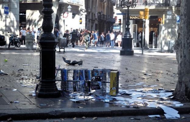 Polacy świadkami zamachu w Barcelonie