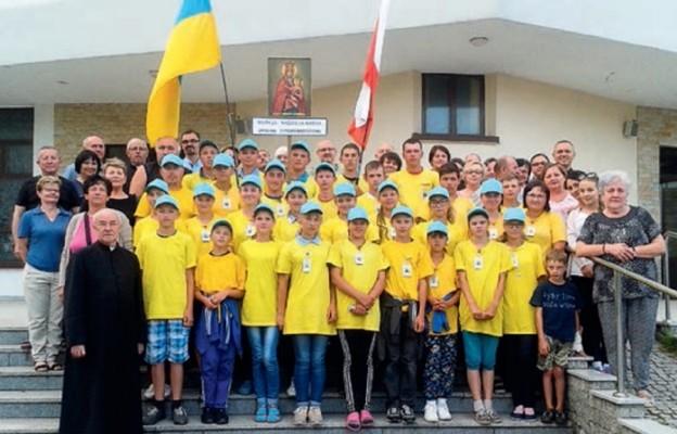 Dzieci Żytomierszczyzny pielgrzymowały do Częstochowy