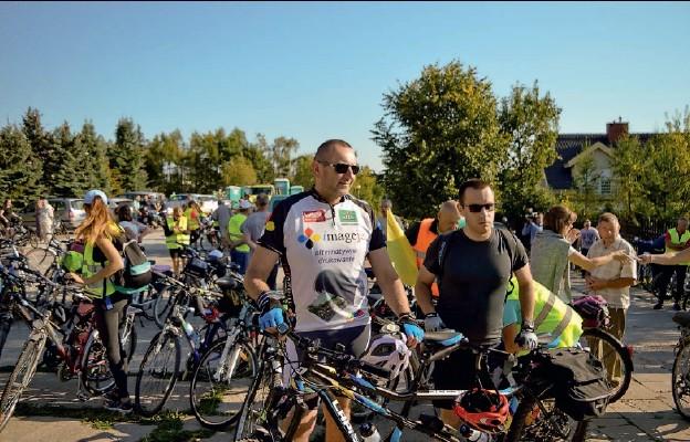 Wśród rowerowych pielgrzymów