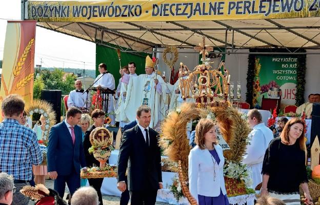 Pierwsze Diecezjalno-Wojewódzkie Dożynki
