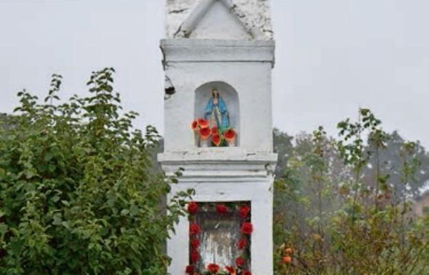 Maryjna kapliczka wotywna w Górkach