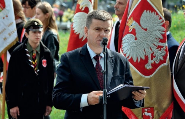Dyrektor Zespołu Szkół Budowlanych i Ogólnokształcących Stanisław Sitarz