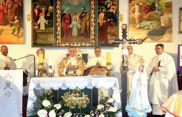 60-lecie parafii pw. Najświętszej Rodziny w Szczecinie-Płoni