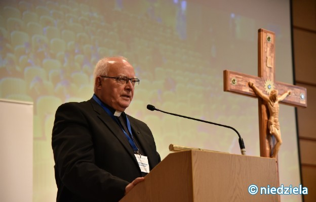 Ks. prof. Chrostowski podczas sesji Kongresu Ruchu