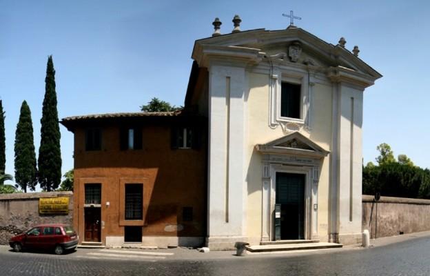 Kościółek Quo vadis Domine przy Via Appia w Rzymie