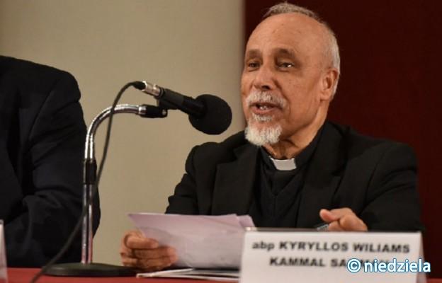 Katolicki arcybiskup Asjutu obrządku koptyjskiego Kyrillos Samaan