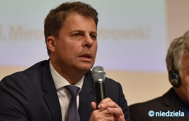 Europoseł prof. Mirosław Piotrowski