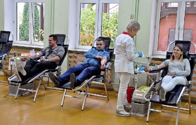 Oddają krew – ratują życie